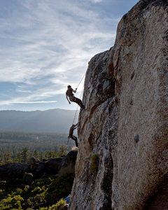 Climbing Lake Tahoe
